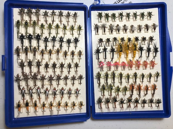 Bug Luggage Big Box Loaded (136 Flies @ approximately 1.15/fly)