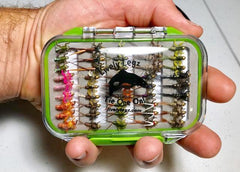 "Lively Legz ""The Minimalist"" Half Loaded Nymph Box (45 Flies @ approximately 1.30/fly)"