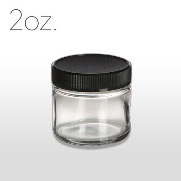 2 oz Glass Jar with Lid