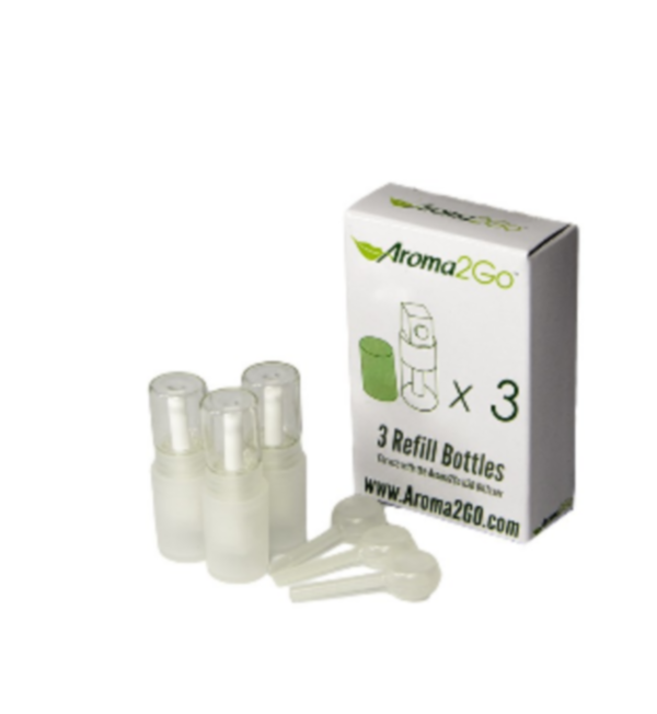 Aroma2Go Refill Cartridges - Package of 3