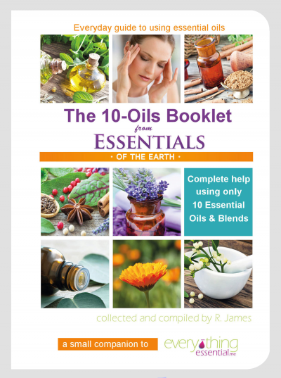 Essentials of the Earth - 10 Oils Book - SINGLE