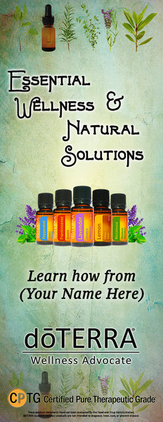 dōTERRA Essential Wellness Banner - CUSTOMIZEABLE