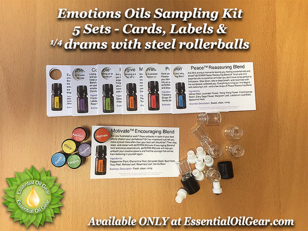 Emotions Oils Sampling Kit