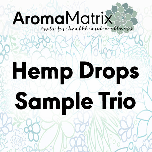 Hemp Drops - Sample Trio