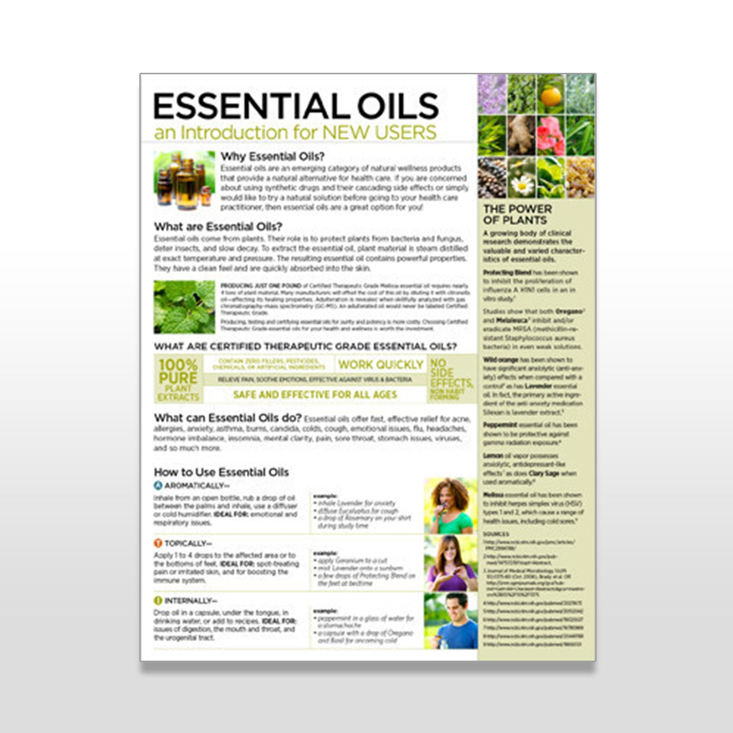 Essential Oils an Intro for New Users - Tear Pad