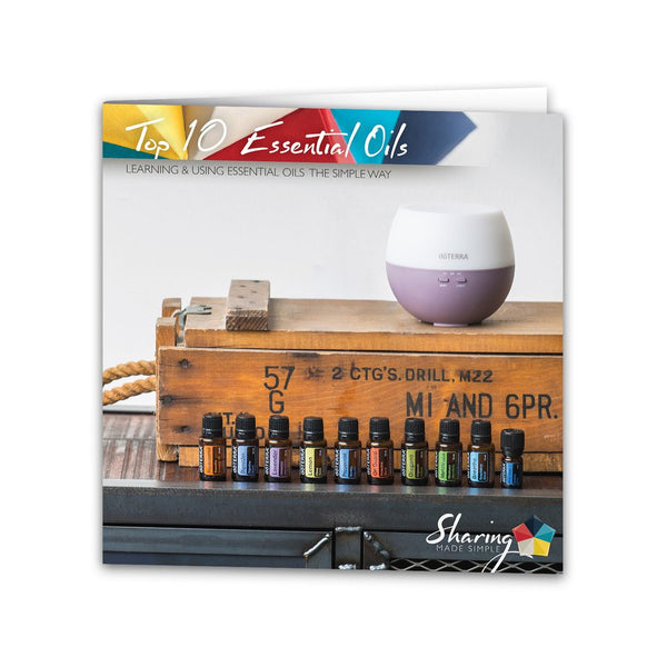 Top 10 Essential Oils Trifold
