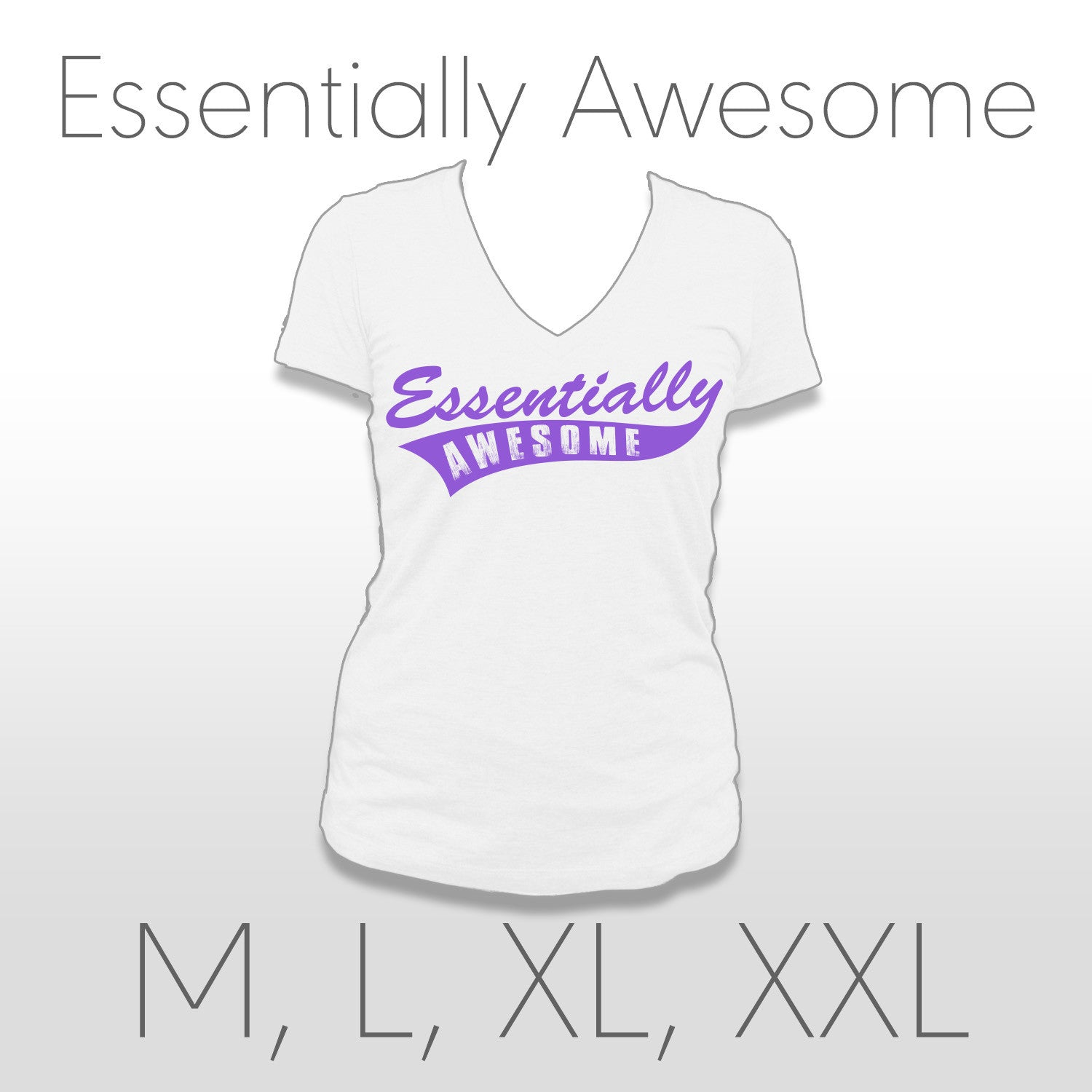 Essentially Awesome Ladies Tee