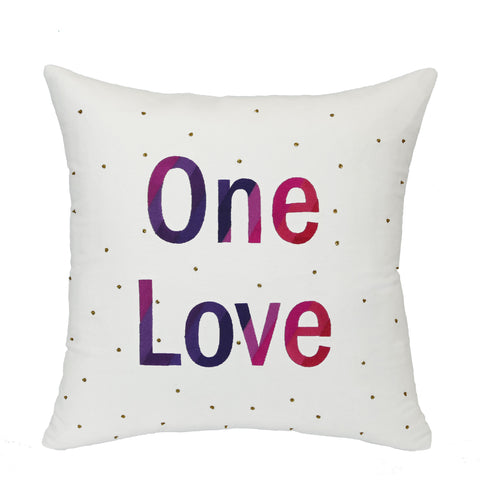 "Pillow ""One Love"""
