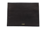 Permanent Collection Envelope Portfolio: Black w/Embossed Python - Hymonline - 2