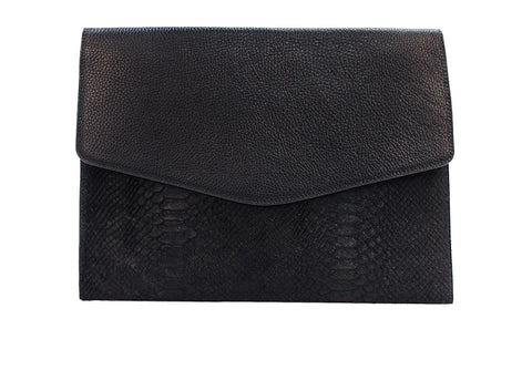Permanent Collection Envelope Portfolio: Black w/Embossed Python - Hymonline,  , HYM, Hymonline