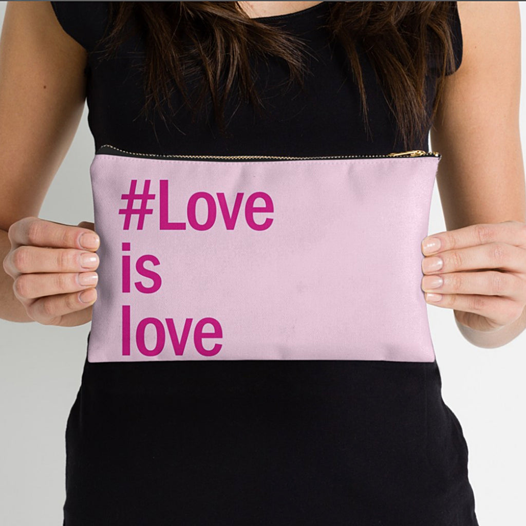 """#Love is love"" Studio Pouch"
