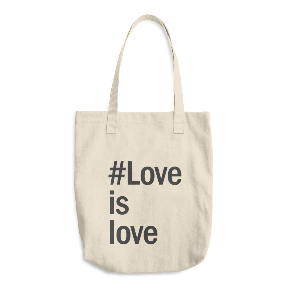 Love is Love Cotton Tote Bag