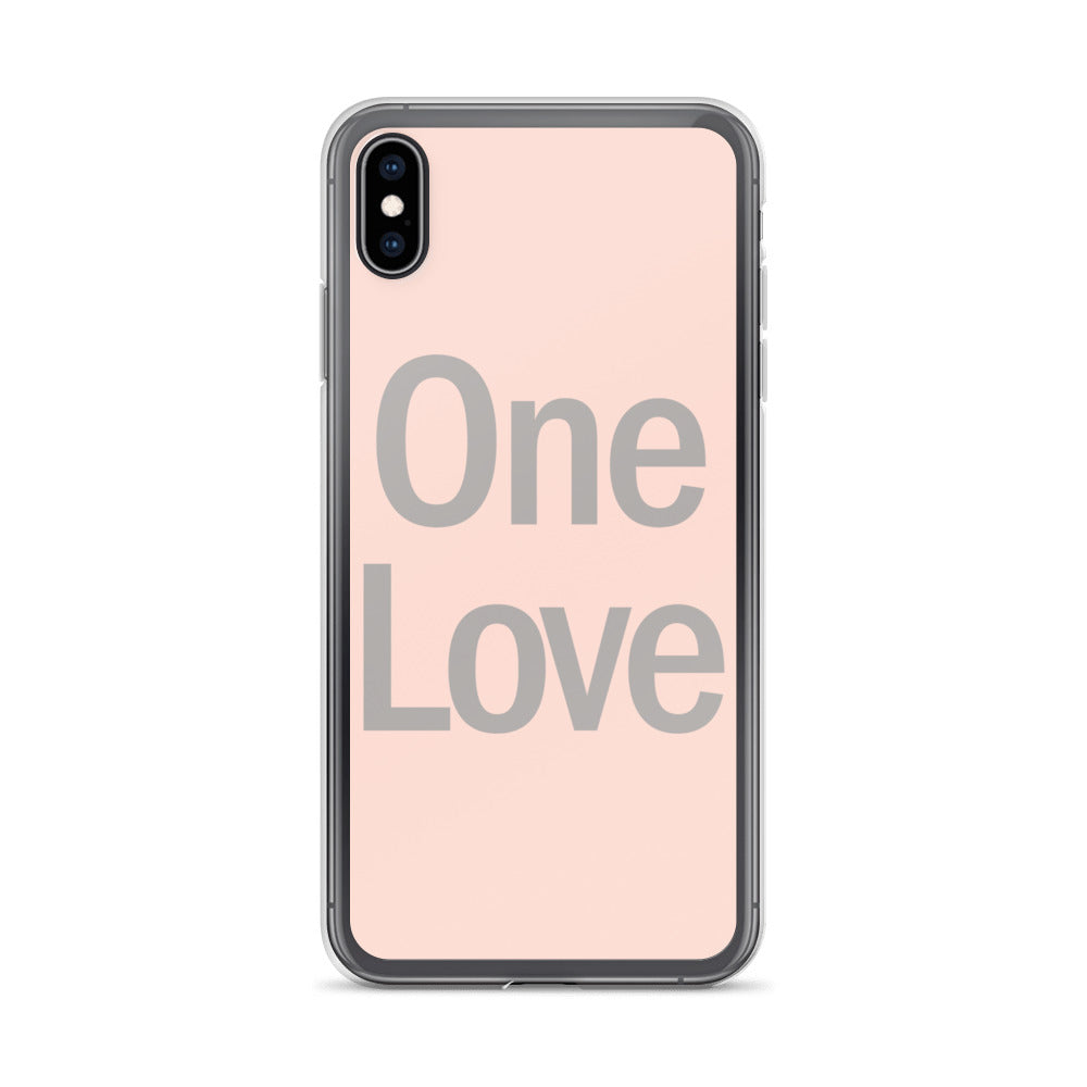 One Love iPhone Case