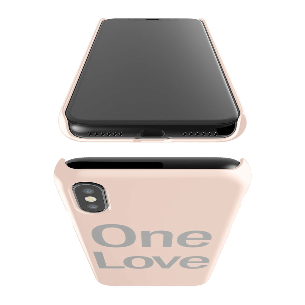 """One Love"" phone case"