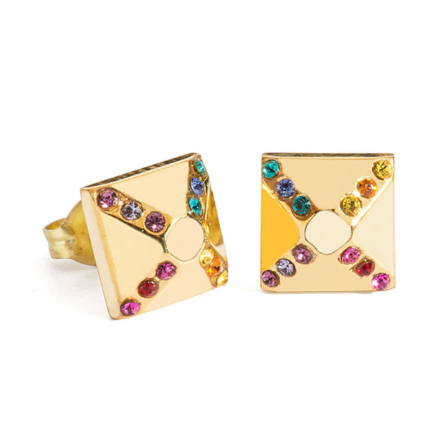 "Jewelry ""Rainbow Pyramid"" Earrings - Hymonline,  , Hymonline, Hymonline"