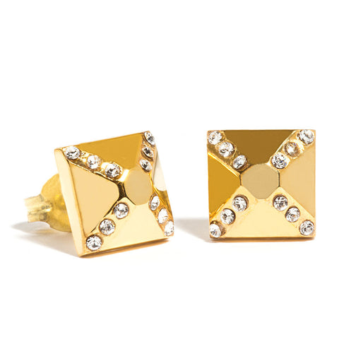 "Jewelry ""Crystal Pyramid"" Earrings - Hymonline,  , Hymonline, Hymonline"