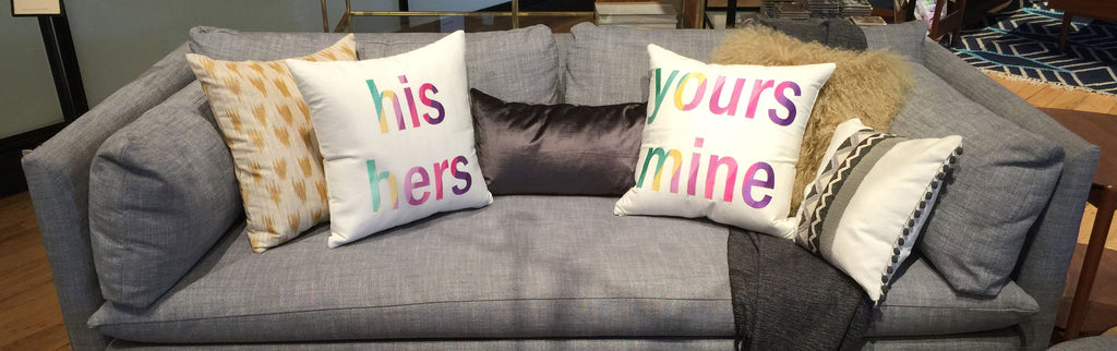 "Pillow ""His/His"" - Hymonline - 2"