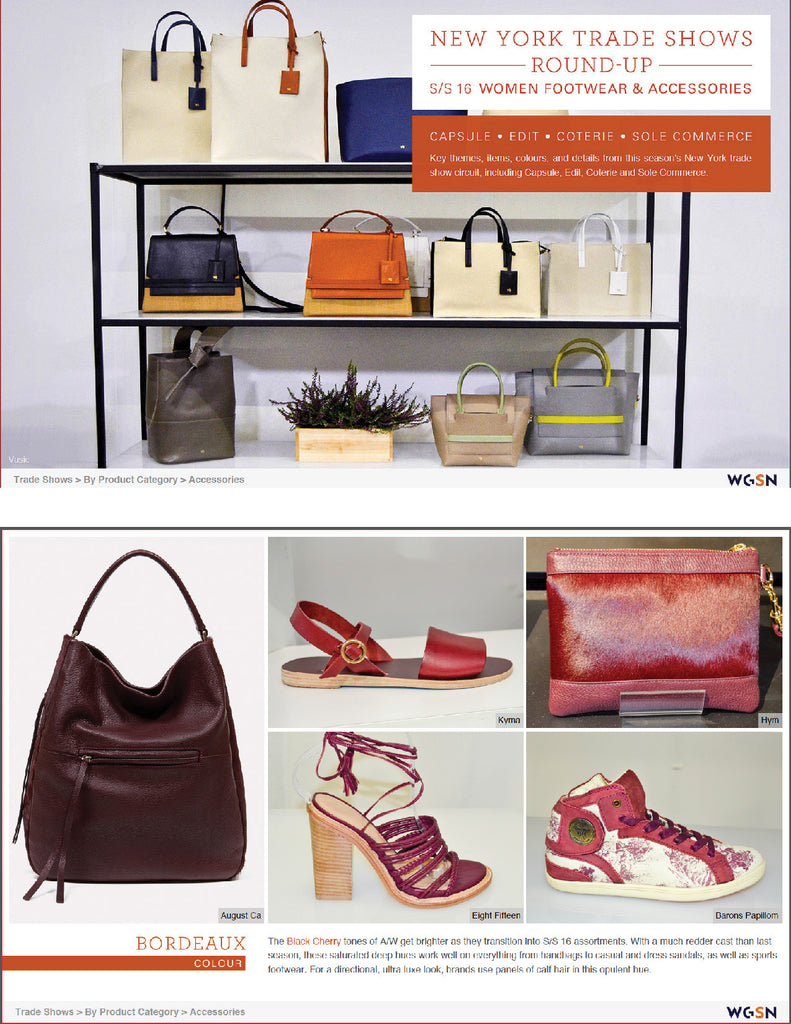 WGSN New York Trade Shows SS16 Report September 2015 - Hymonline,  , Hymonline, Hymonline