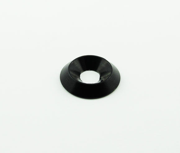 WASHER - COUNTERSUNK 6MM - BLACK