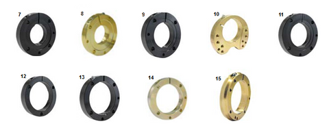 BEARING CARRIER FLANGES