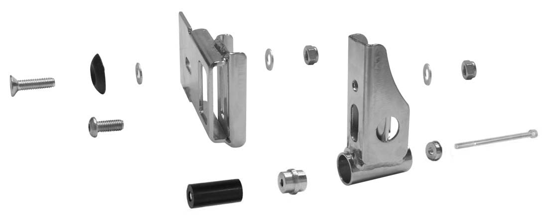 CRG REAR BUMPER- MOUNTING KIT
