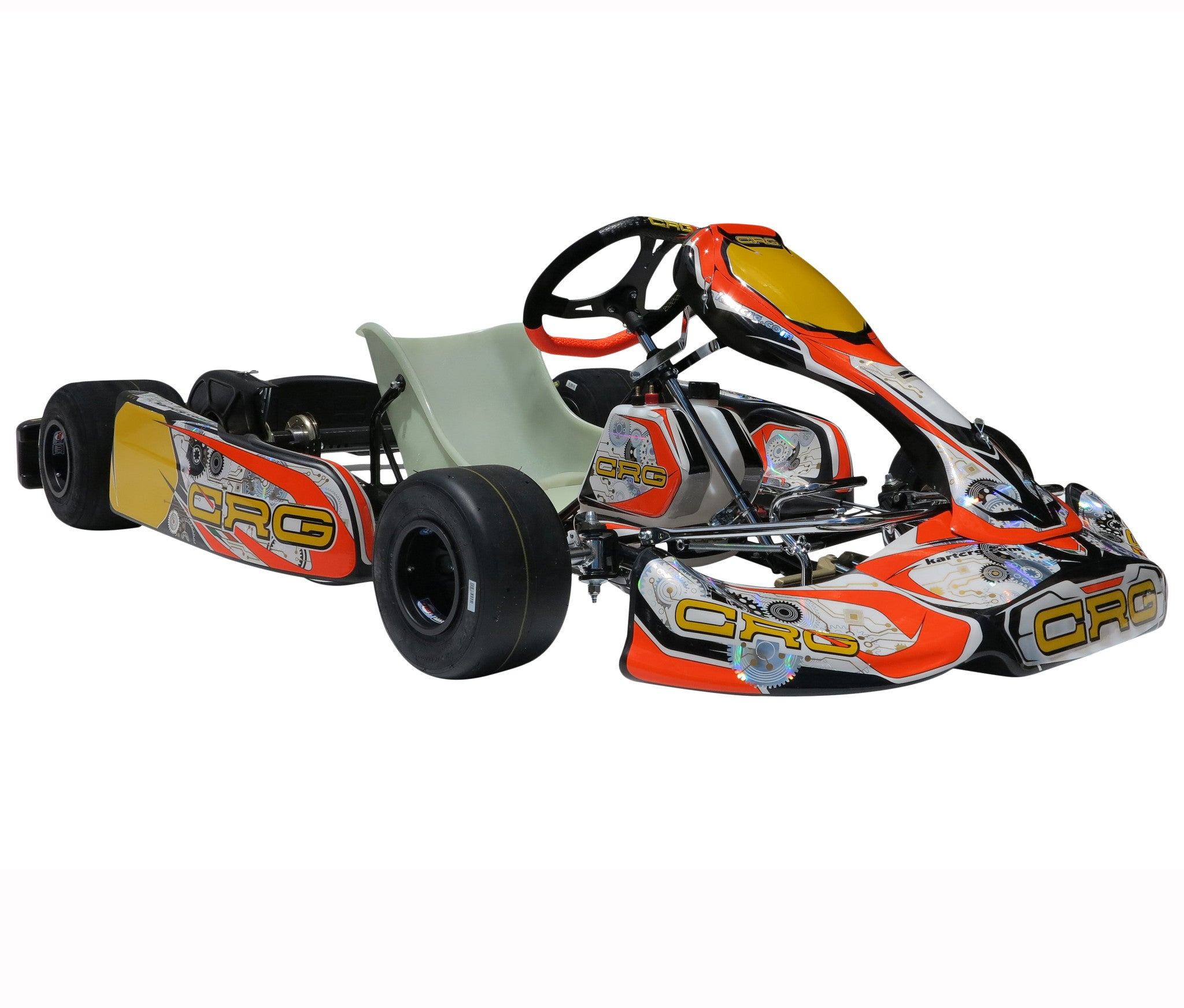 CRG FS-4 - BRIGGS AND STRATTON CHASSIS- CRG Magnesium Briggs and Stratton engine mount.
