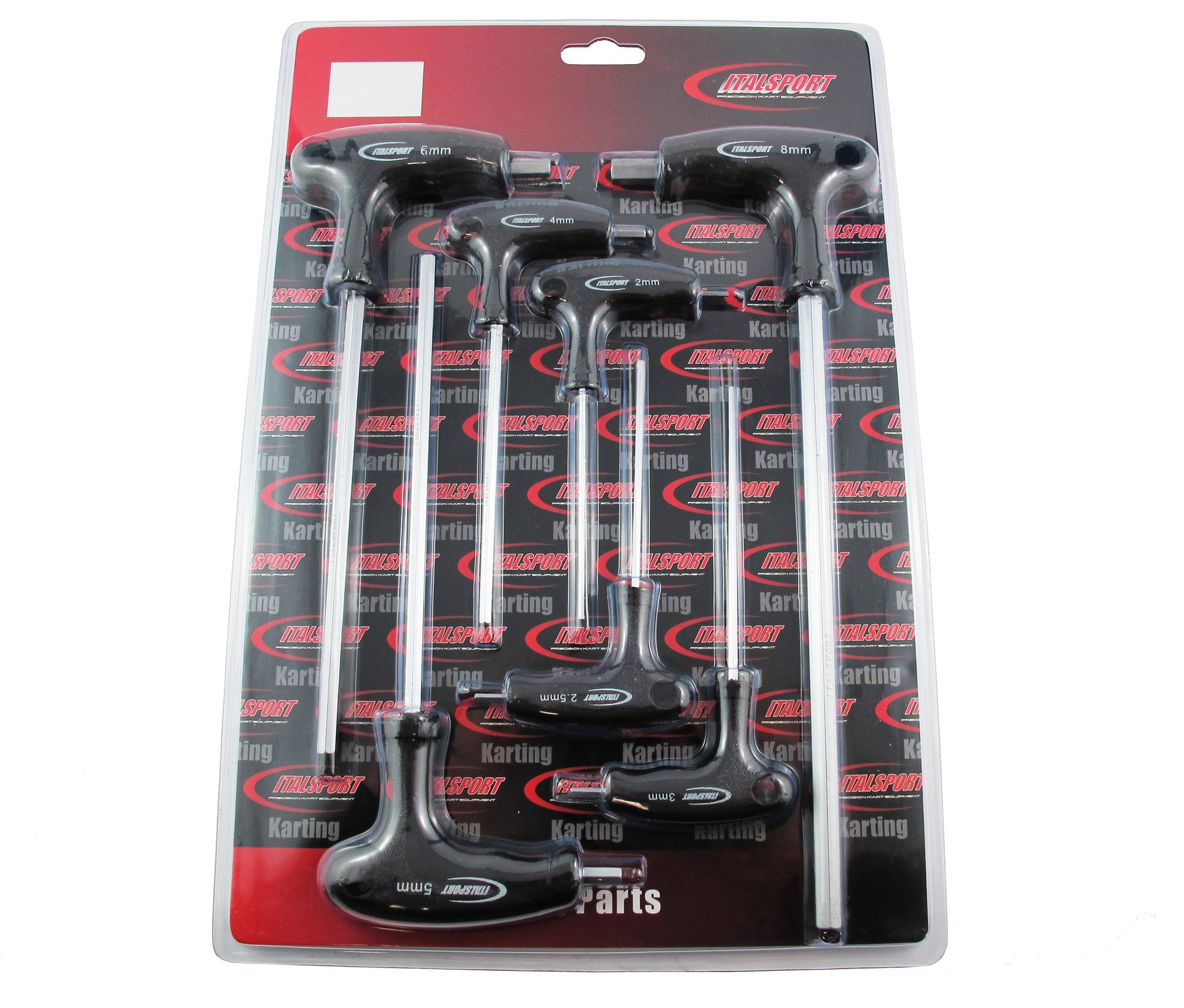 T Bar Kit Hex Key Plastic Handle