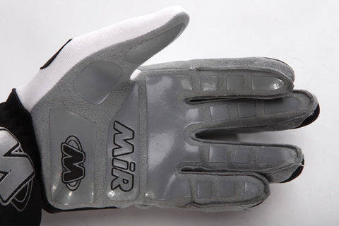 MIR K9 RACE GLOVES-BLACK/WHITE