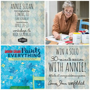 Win a Workshop with Annie Sloan!