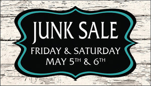 2nd Annual Junk Sale