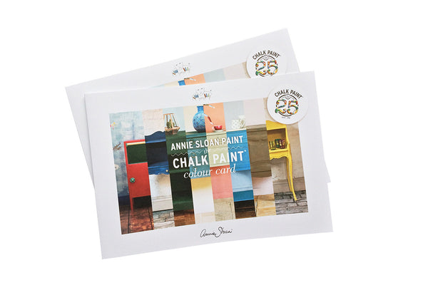The Chalk Paint® Color Card by Annie Sloan