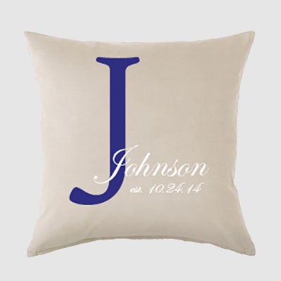 July 29th - Monogram Pillow