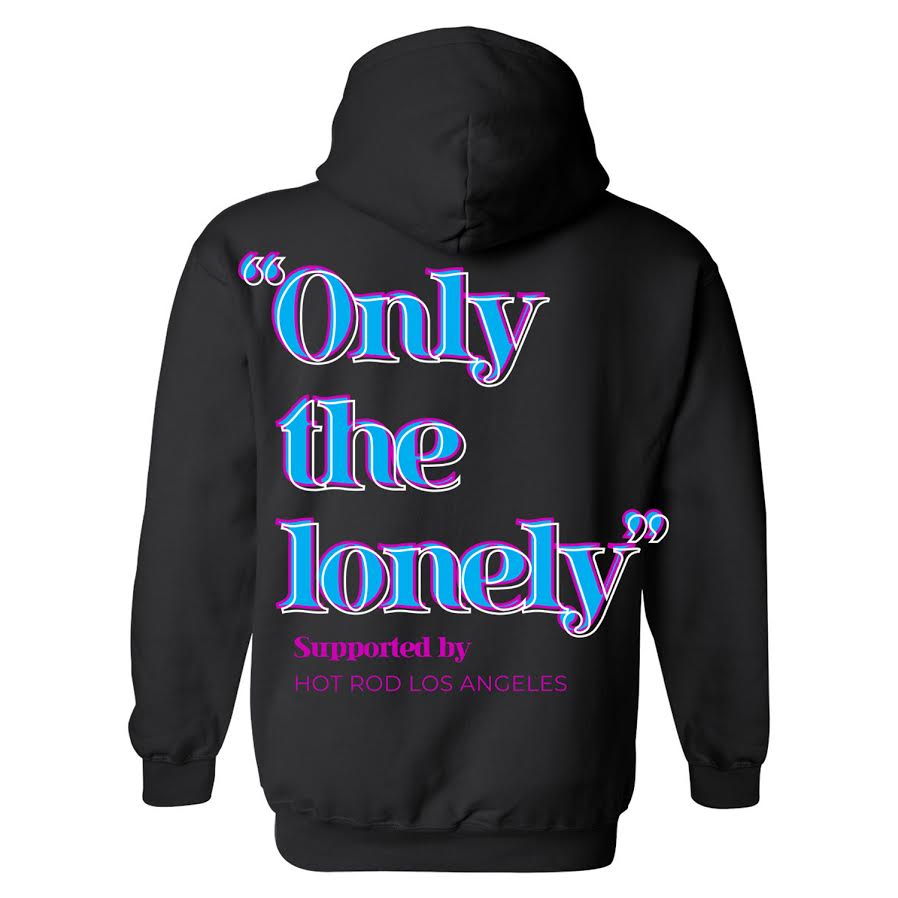 HOT ROD X ONLY THE LONELY HOODIE (MULTI/BLACK)