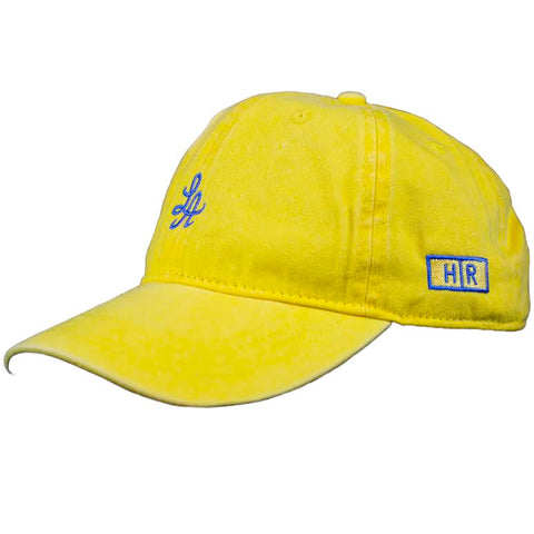 Hot Rod 6-Panel Adjustable Strap Cap (Yellow)