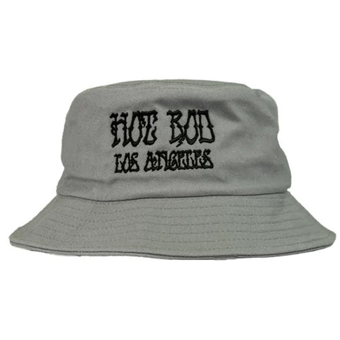 BOOTLEG YOUR FACE EMBROIDERED BUCKET HAT (TOUCH OF GREY)