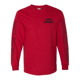 HOT ROD SNAKES EVERYWHERE LONG SLEEVE (RED)
