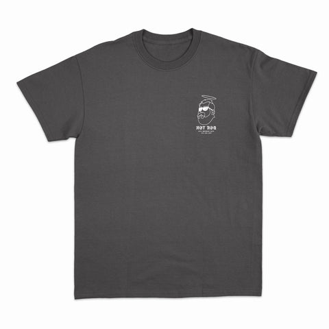 SAINT BERNARD TEE (get your vans at hot rod) BLACK