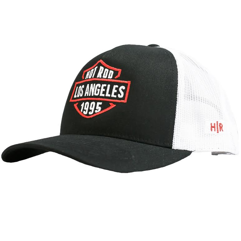 HRLA® TRUCKER CAP BLACK/WHITE