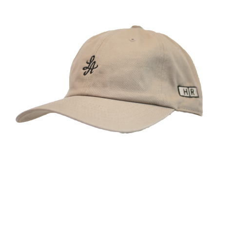 Hot Rod 6-Panel Adjustable Strap Cap (Tan/Black)