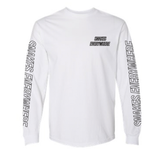 HOT ROD SNAKES EVERYWHERE LONG SLEEVE (WHITE)