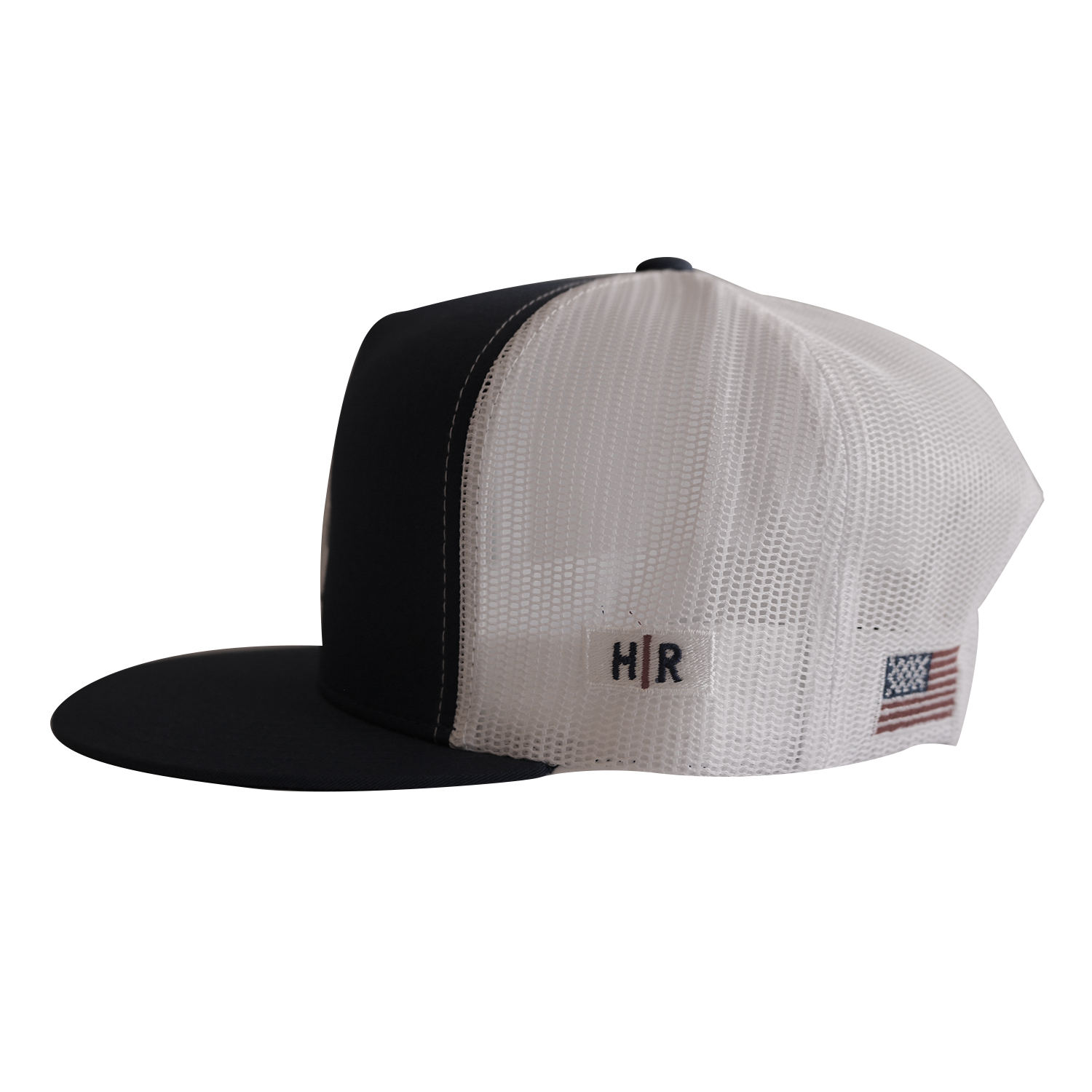 Signature LA Trucker Hat (Black White)