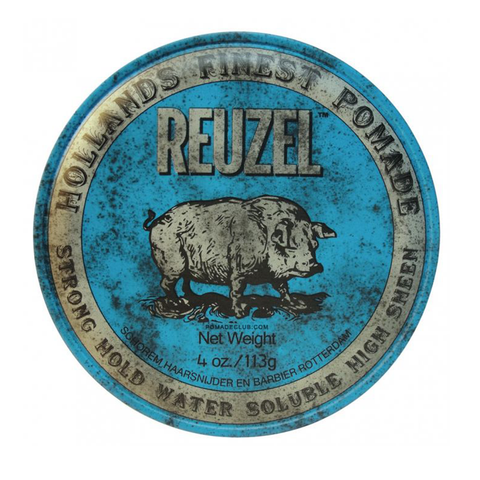 REUZEL POMADE STRONG HOLD 4oz.