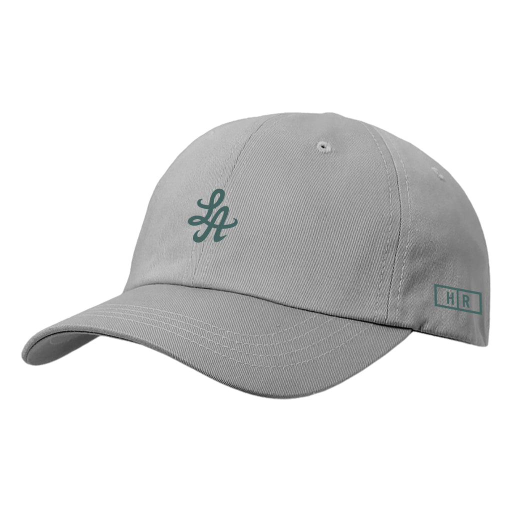 Hot Rod 6-Panel Adjustable Strap Cap (Grey/Green)