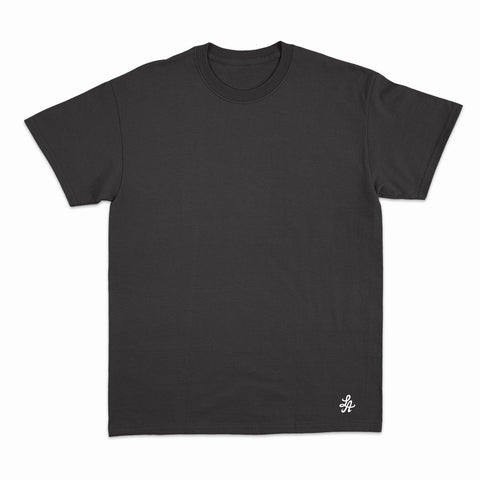 HOT ROD SIGNATURE LA FINE COTTON TEE (BLACK/WHITE)