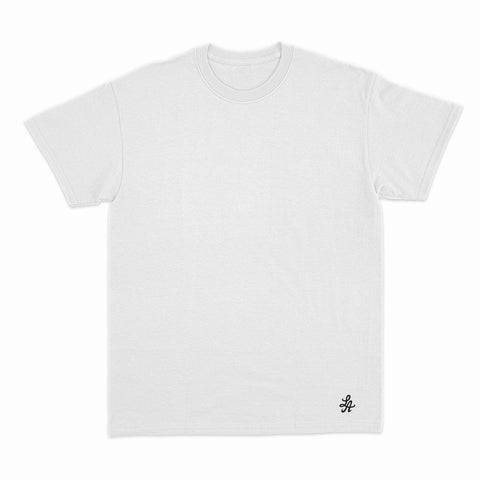 HOT ROD SIGNATURE LA FINE COTTON TEE (WHITE/BLACK)