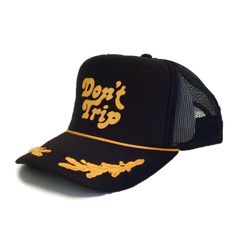 FREE AND EASY DON'T TRIP OG CAPTAINS TRUCKER HAT