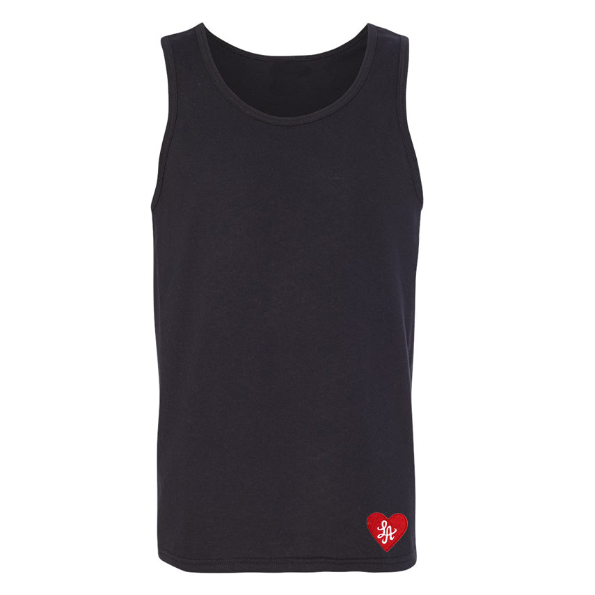 "HOT ROD LA ""LOVE ONE ANOTHER"" EMBROIDERED TANK (BLACK)"