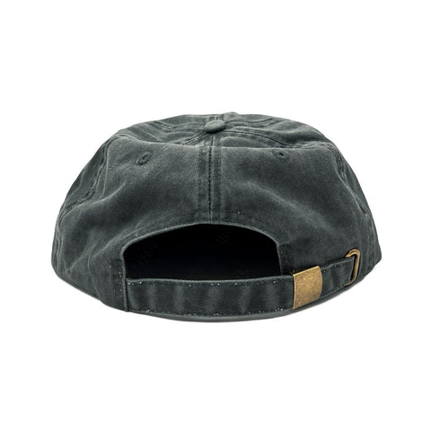 FREE AND EASY DON'T TRIP UNSTRUCTURED HAT (WASHED BLACK)