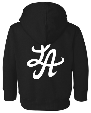 HOT ROD SIGNATURE LA TODDLER PULLOVER HOODIE (BLACK)