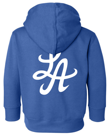 HOT ROD SIGNATURE LA TODDLER PULLOVER HOODIE (ROYALE BLUE)